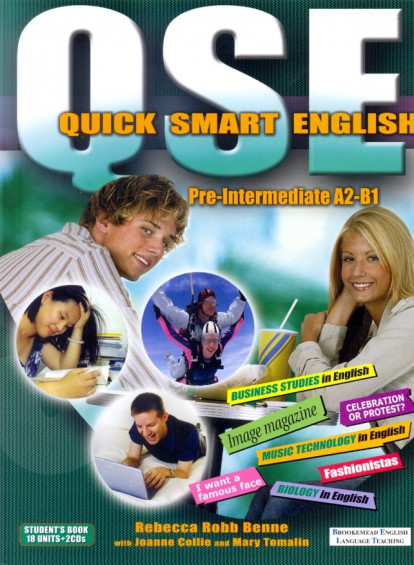 Quick Smart English A2-B1 Student's Book + 2 CDs