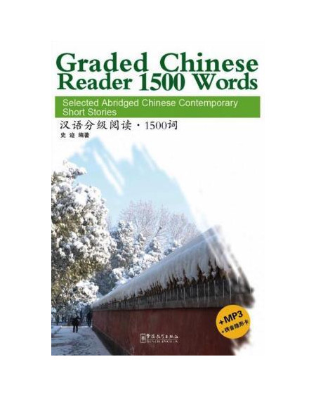 Graded Chinese Reader 1500 Words +MP3 CD