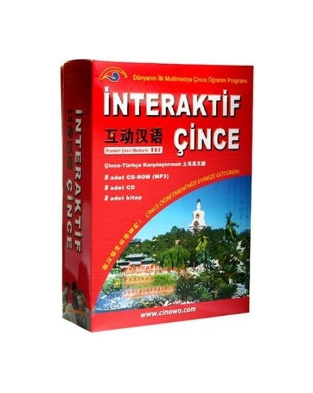İnteraktif Çince Seti (8 Kitap + 8 CD-ROM + 8 CD)