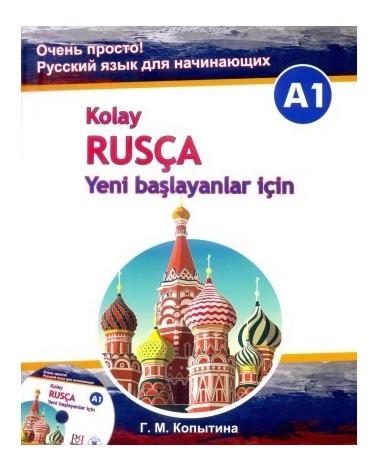Kolay Rusça - Yeni başlayanlar için +CD (A1)