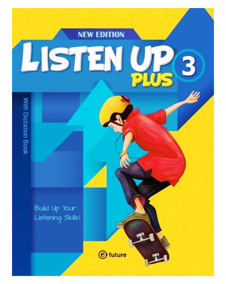 Listen Up Plus 3 with Dictation Book +2 CDs