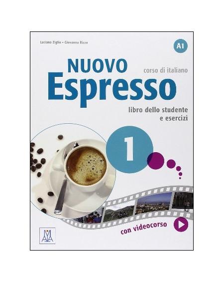 Nuovo Espresso 1 libro +DVD ROM (A1)