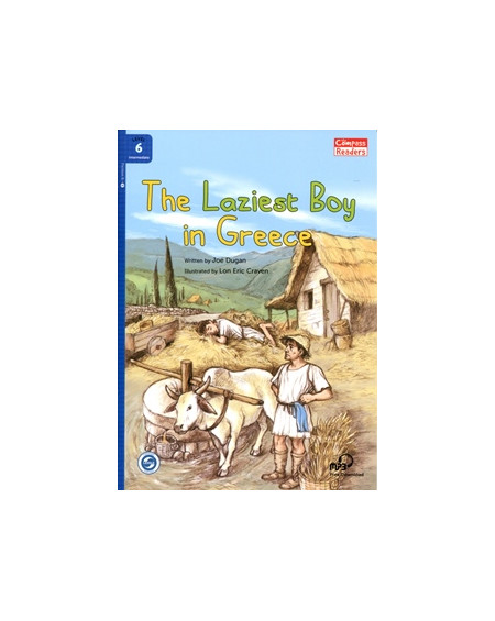 The Laziest Boy in Greece + Downloadable Audio (Compass Readers 6)