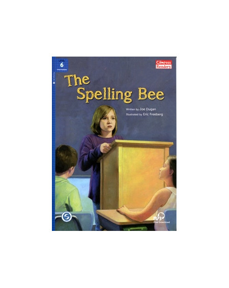 The Spelling Bee + Downloadable Audio (Compass Readers 6)