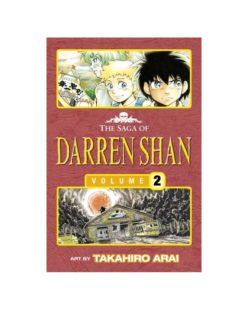 The Vampire Assistant - The Saga of Darren Shan 2 [Manga edition]