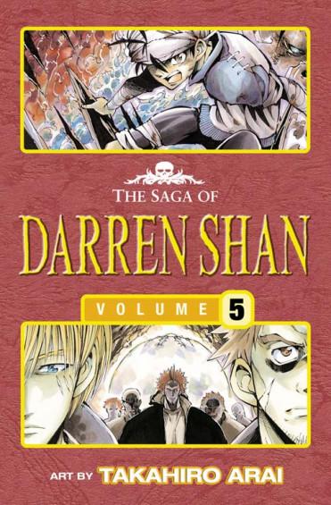 Trials of Death - The Saga of Darren Shan 5 [Manga edition]