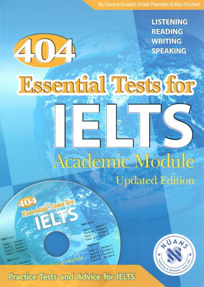 404 Essential Tests for IELTS with MP3 CD