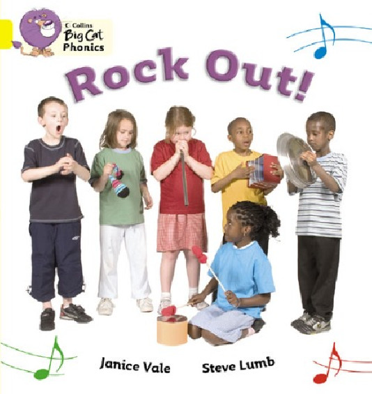 Collins Big Cat Phonics - Rock Out! (Band 03/Yellow)