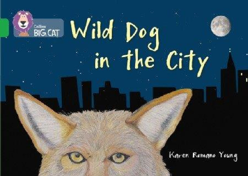 Collins Big Cat - Wild Dog In The City (Band 05/Green)