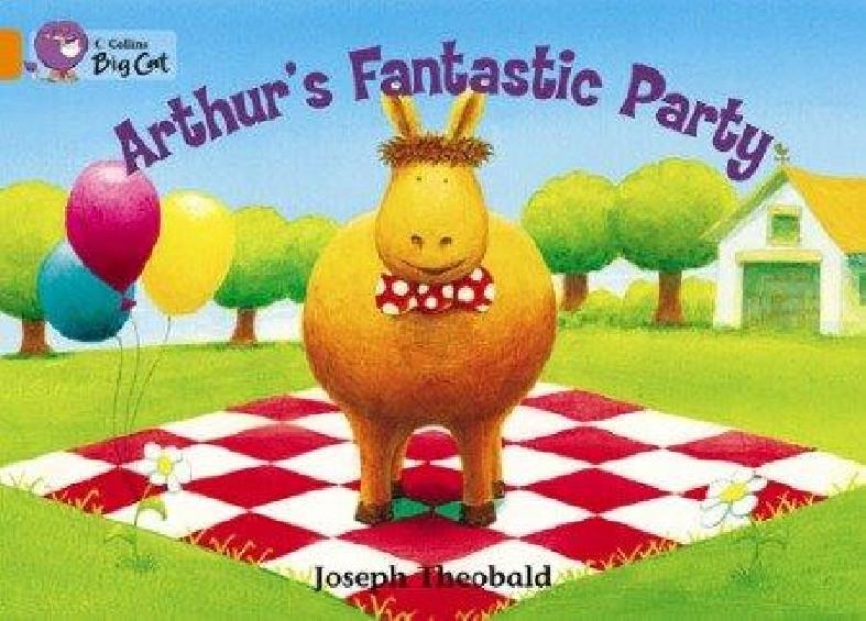 Collins Big Cat - Arthur's Fantastic Party (Band 06/Orange)