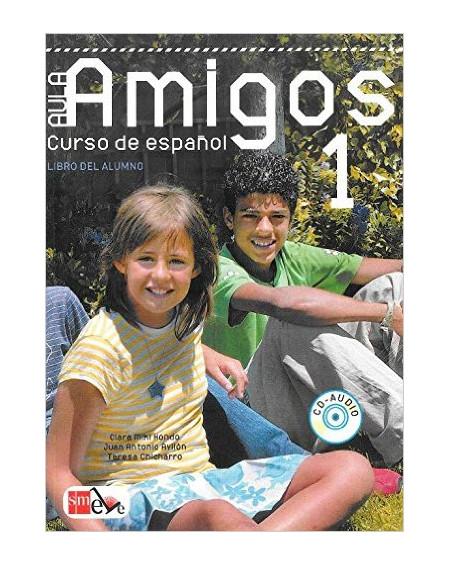 Aula Amigos 1 Libro del alumno +CD +Portfolio