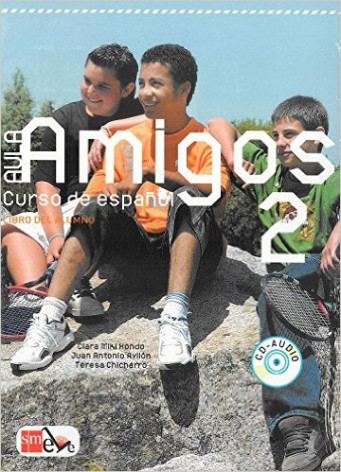 Aula Amigos 2 Libro del alumno +CD +Portfolio