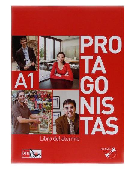 Protagonistas A1 Libro del alumno +Cuaderno de actividades +2 CD