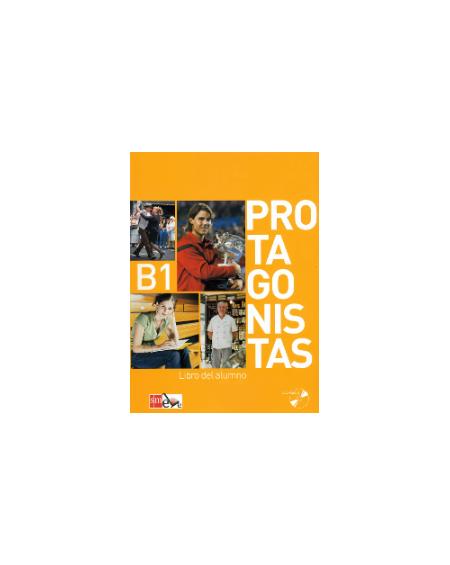 Protagonistas B1 Libro del alumno +Cuaderno de actividades +2 CD