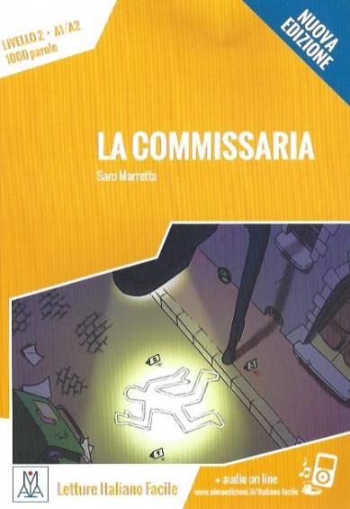 La commissaria +Audio online (A1-A2) - Nuova edizione