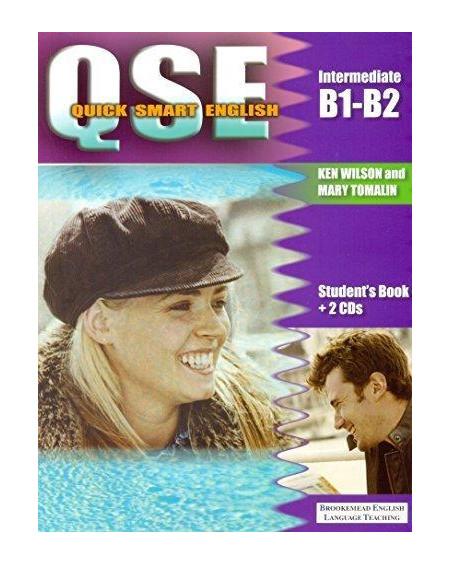 Quick Smart English Intermediate B1-B2 Student's Book + 2 CDs