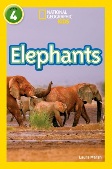 Elephants (National Geographic Readers 4)