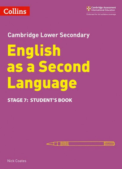 Cambridge Lower Secondary English as a Second Language - Student's Book Stage 7