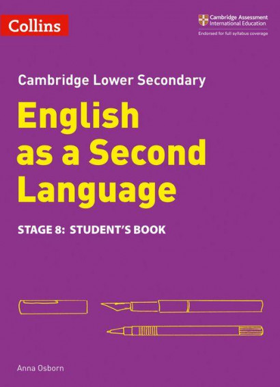 Cambridge Lower Secondary English as a Second Language - Student's Book Stage 8