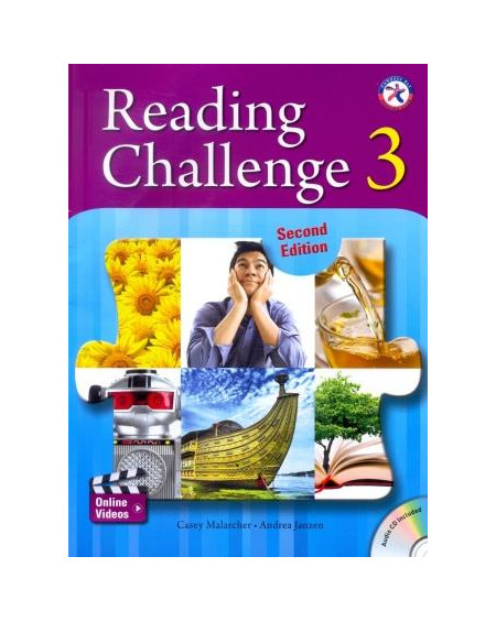 Reading Challenge 3 +CD (2nd Edition)