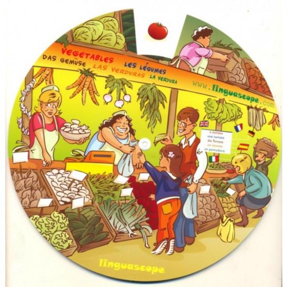 Fruit & Vegetables (Vocabulary Wheel)