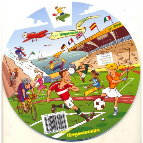Sports (Vocabulary Wheel)