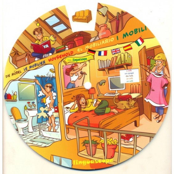 In the House (Vocabulary Wheel)