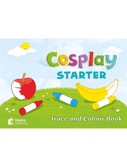 Cosplay Starter Trace and Colour Book (Activity Book)