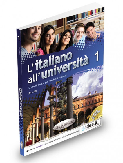 L'italiano all'università 1 Libro di classe ed Eserciziario + CD Audio