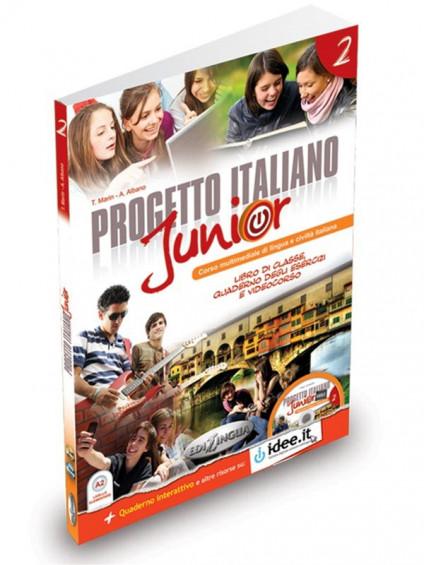 Progetto italiano Junior 2 + DVD